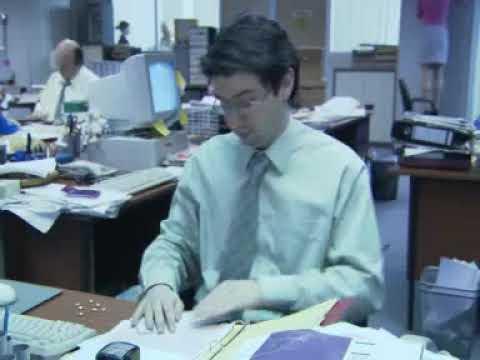 Охране труда посвящается. Работа в Офисе.