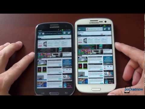 Video - Galaxy S III Jelly bean vs. Ice Cream Sandwich - SagaTube