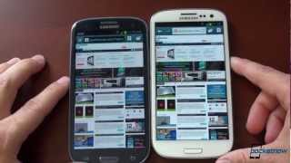 Galaxy S III_ Jelly bean vs. Ice Cream Sandwich