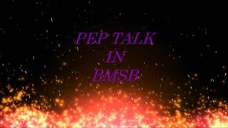 "Trailer of ""Pep Talk in BMSB""-  Never Before and Never Again"" By Kotesh Bhukya"