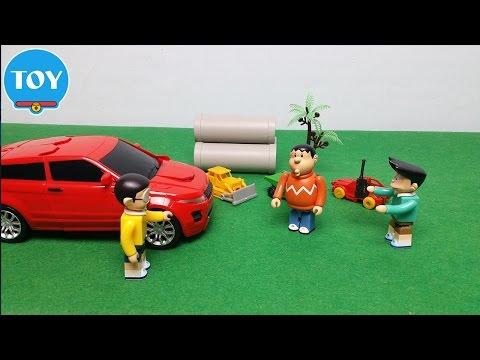 Đồ chơi doremon chế hài - Suneo khoe Nobita xe hơi điều khiển từ xa thumbnail