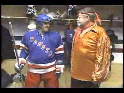 New York Rangers w/ Chris Elliot on Letterman Video