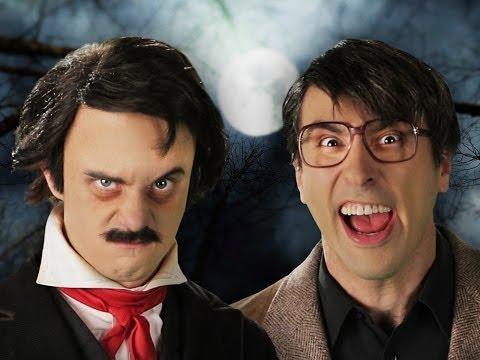 Stephen King vs Edgar Allan Poe. Epic Rap Battles of History Season 3.