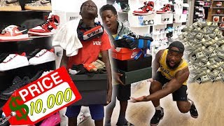ANYTHING 13 YEAR OLD KIDS CAN CARRY I WILL BUY IN THE MALL CHALLENGE!