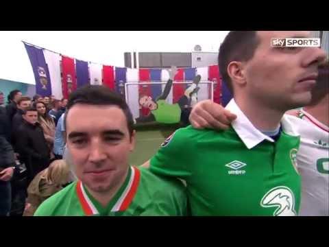 Sky Sports - Soccer AM: Euro 2016 - Irish fans, Puncheon, Zaha, Hartson, Heaton PK Shots (14/11/15)
