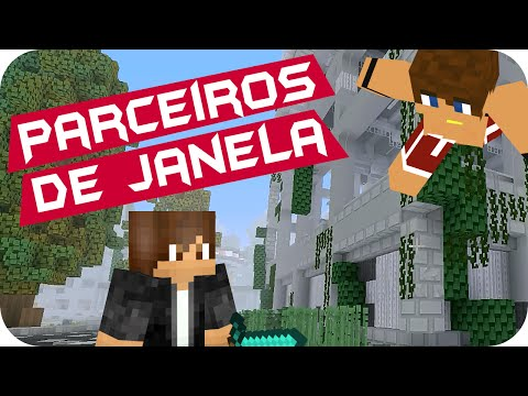 Minecraft: Hide N Seek - Parceiros de Janela