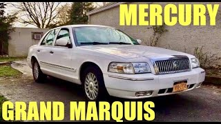 2007 Mercury Grand Marquis (now is the time to buy)