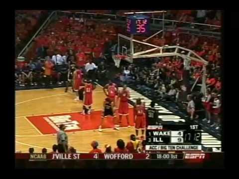 #1 Wake Forest @ #3 Illinois 12-4-04 (Full Game)