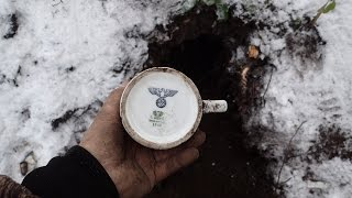 Wintertime WW2 expedition , WOW ,  some special finds.