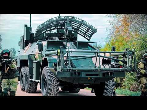 Машина дистанционного разминирования МДР «Листва»