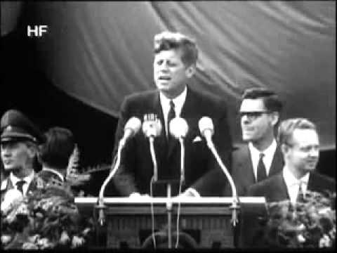 John F. Kennedy's Speech In Berlin video