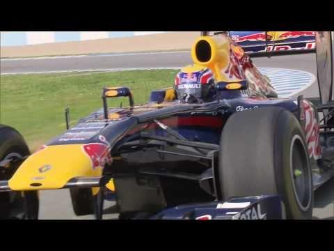 F1 - 2011 Jerez tests - Mark Webber on track & onboard (Red Bull RB7)