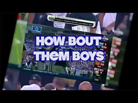 How Bout Them Boys video (Dallas Cowboys Anthem) We Dem Boyz remake