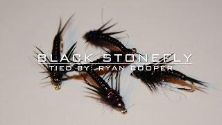 Fly Tying: Black Stonefly