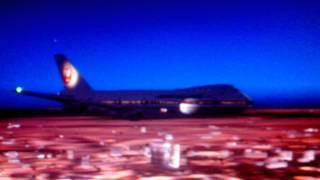 Japan airlines retro 747 crash..
