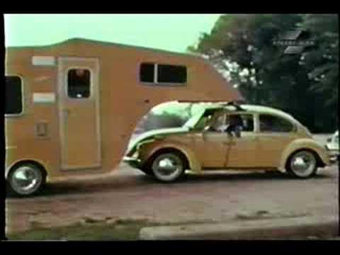 1974 Volkswagen Beetle Amp Camper Road Test Youtube