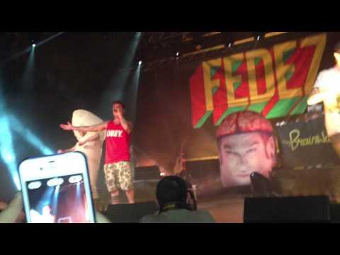 Fedez LIVE @Alcatraz (MI) 17/4/13 Dai cazzo federico