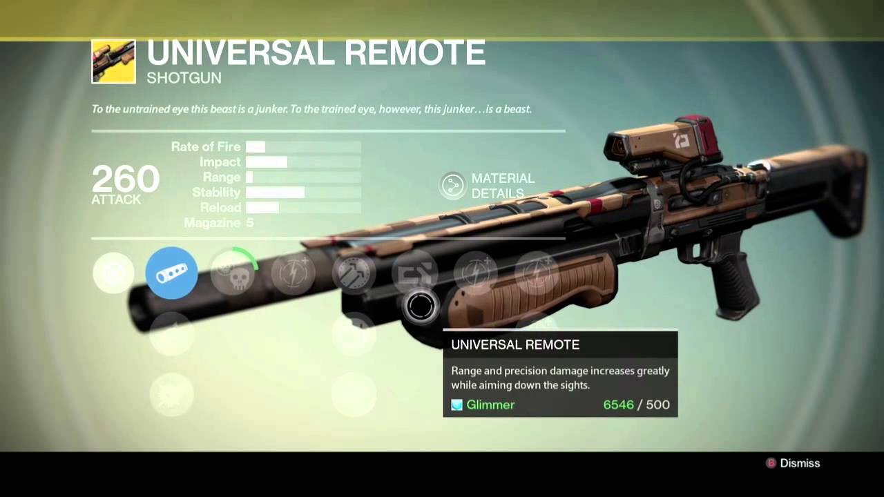 The gallery for --> Universal Remote Destiny
