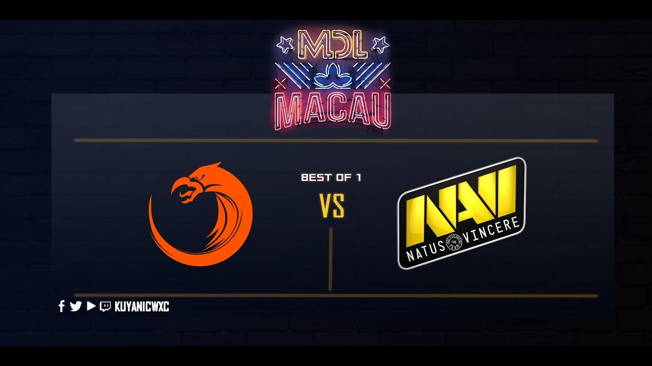 TNC Pro Team vs Navi Game 1 (Bo1) | MDL Macau