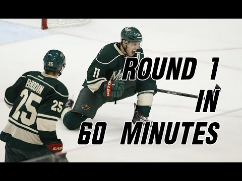 2014 NHL Playoffs: Round 1 in 60 Minutes