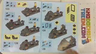 Hướng dẫn lắp ráp Lepin 14019 Lego Nexo Knights 70323 Jestro's Volcano Lair giá sốc rẻ nhất