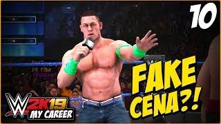 WWE 2K19 : My Career Mode -  FAKE John Cena? (Part 10)