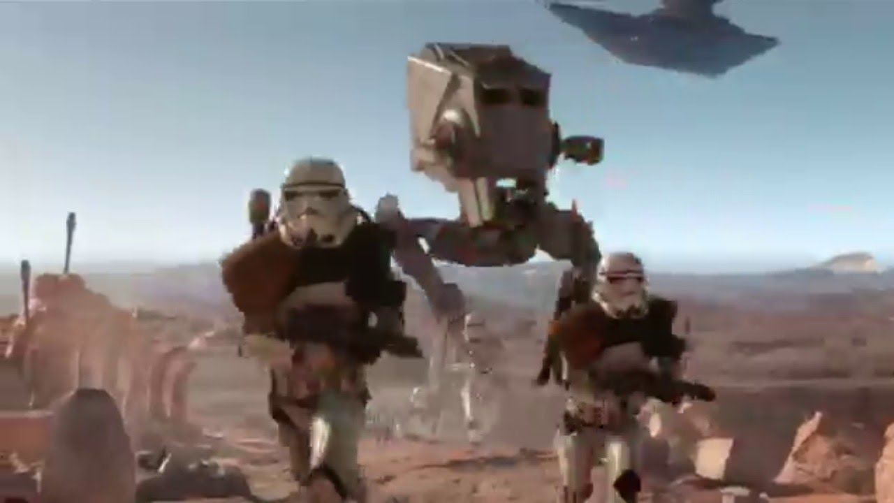 The Best 60 Seconds of New Star Wars Battlefront Gameplay