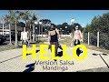 HELLO - Version Salsa - ZUMBA® - Coreografia l Cia Art Dance