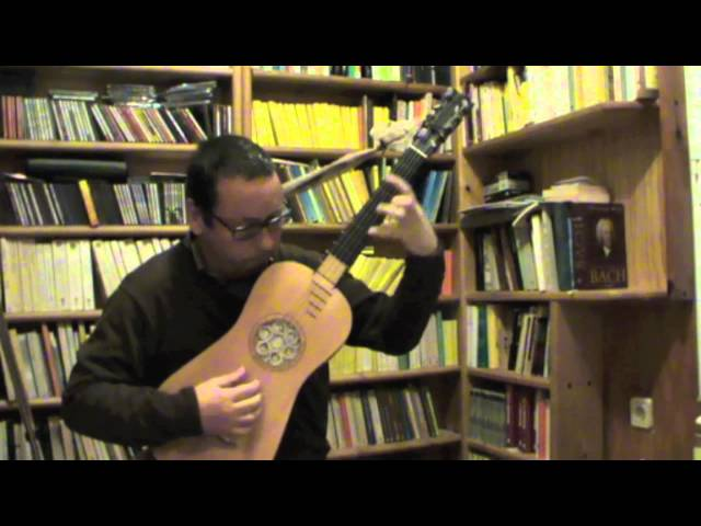 Francisco Guerau, Canarios (Thomas Schmitt, baroque guitar)