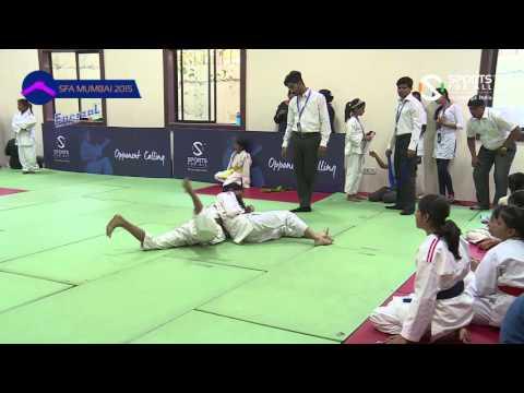 SFA Mumbai 2015 |Judo |Singh shiksha Rajendra vs Muni Yara Jitendra |Girls | |U-12 | |-46Kg|R2 |