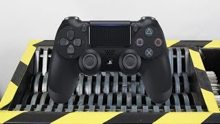 Experiment Shredding PlayStation 4 PS4 Controller And Toys Satisfying | The Crusher