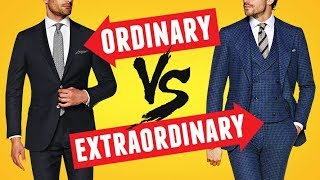 Suit Up  - Tips To Take Your Suit Style From Ordinary To Extraordinary   RMRS Style Videos