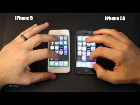iPhone 5 vs iPhone 5S Speed Test - A7 Processor vs A6 Processor Benchmark