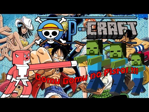 Minecraft  OP-craft mod  1.6.4  One piece mod   reviews en Español