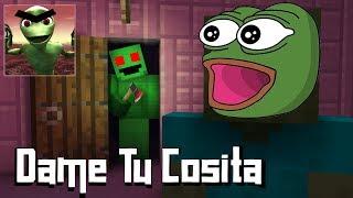 Monster School : DAME TU COSITA HORROR GAME CHALLENGE - Minecraft Animation