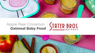 Homemade Apple-Pear Cinnamon Oatmeal Baby Food | Stater Bros. Markets