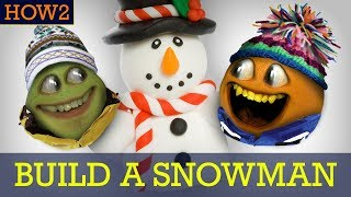 HOW2: How to Build a Snowman!