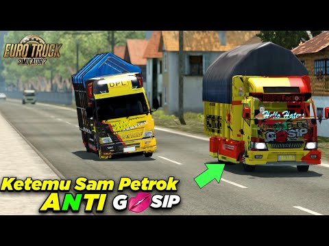 Truck Kapten Faith (DPL)  Oleng Kapten Melibas Alas Roban #eurotrucksimulator2 Truck Mod Indonesia