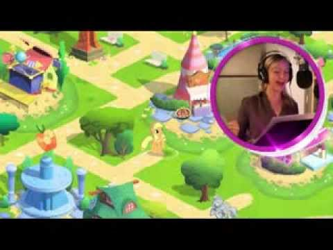 My Little Pony Mobile Game - Behind The Scenes With Ashleigh Ball video