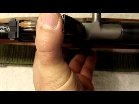 How to load an SKS with a stripper clip.