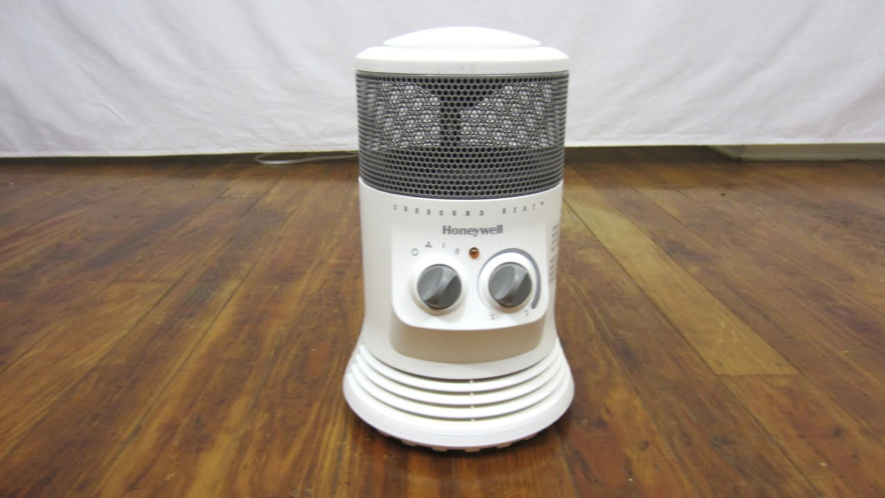 Honeywell Electric Mini Tower 360 Heater Youtube