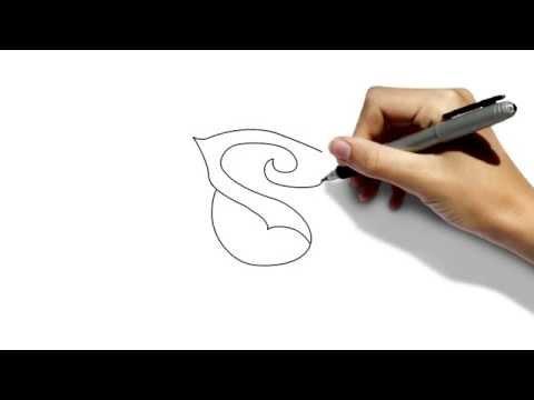 Видео как нарисовать розу ручкой