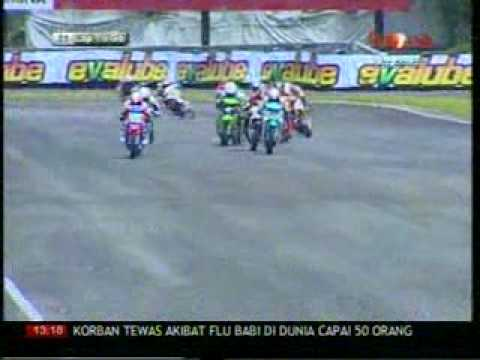 INDOPRIX 2009 SERI 2. 110 cc RACE 2 PART1
