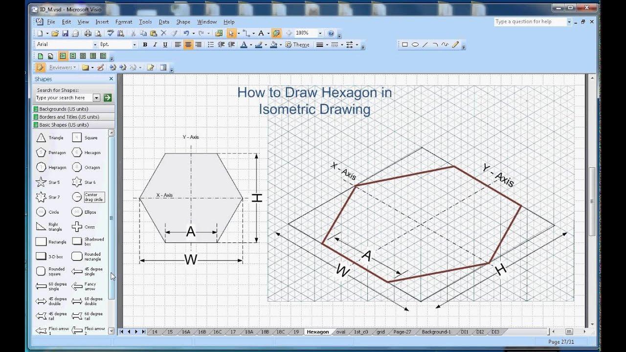 how to create hexagon - photo #8