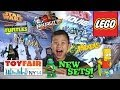 2014 LEGO SETS!!! NY Toy Fair - LEGO MOVIE, CHIMA, NINJAGO, STAR WARS, SUPER HEROES, TMNT, and MORE!