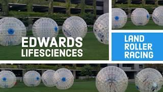 Land Bubble Rollers Racing at Edward Lifescience