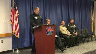APD Police Chief Mike Geier speaks about auto theft