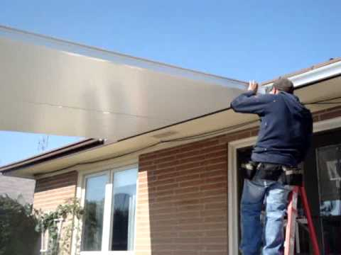 How To Install Insulated Roof Panels Part 1 Youtube