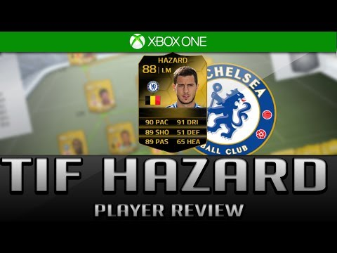 FIFA 14 Ultimate Team  Third Inform (TIF) Hazard   (88) Rated Player Review + In Game Stats
