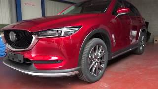 Mounting accessories on the 4x4 192PK Skycruise Mazda CX-5